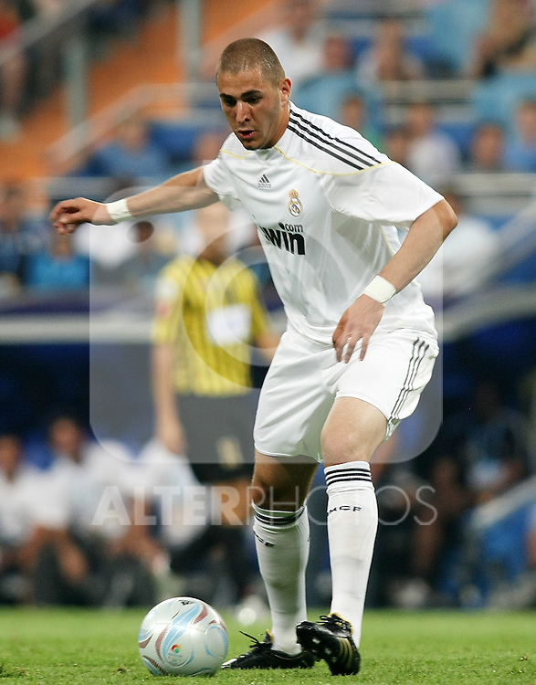 Real Madrid's Karim Benzema during Peace Cup match. July 26 200. (ALTERPHOTOS/Acero).