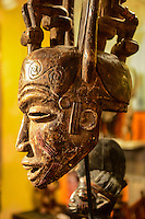 African tribal mask.
