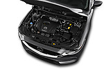 Car Stock 2018 Mazda CX-5 Grand-Touring 5 Door SUV Engine  high angle detail view