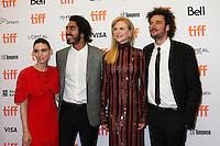 ROONEY MARA, DEV PATEL, NICOLE KIDMAN AND DIRECTOR GARTH DAVIS - RED CARPET OF THE FILM 'LION' - 41ST TORONTO INTERNATIONAL FILM FESTIVAL 2016