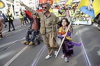Milano, 20/03/2016 - manifestazione della comunità Curda in occasione del loro capodanno<br /> <br /> - Milan, 20/03/2016 - demonstration of the Kurdish community for their New Year