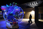Guest arrive at the Boys and Girls Club of Western Nevada as dozens of artists from around the state of Nevada including Burning Man artists who demonstrated their crafts at the annual Capital Collage in Carson City, Nev., on Friday, October 27, 2017. <br /> Photo by Lance Iversen/Nevada Momentum