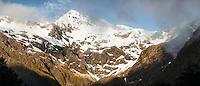 Mount Rolleston, Arthur's Pass National Park, West Canterbury, South Island, New Zealand
