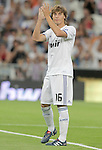 Real Madrid's Sergio Canales during official presentation. August 24, 2010. (ALTERPHOTOS/Alvaro Hernandez)