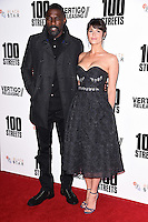"Idris Elba and Gemma Arterton<br /> at the ""100 Streets"" UK premiere, Bfi South Bank, London.<br /> <br /> <br /> ©Ash Knotek  D3195  08/11/2016"