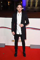 Matt Terry<br /> at the Millies 2016, Guildhall, London.<br /> <br /> <br /> ©Ash Knotek  D3212  14/12/2016