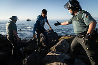 Diplomatic crisis after thousands of African migrants entered Ceuta, Spanish Getty Editorial Image