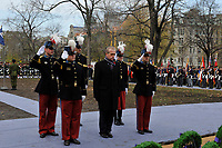 Nov 11, 2012 - Montreal, Quebec, CANADA -  Remembrance Day - - Bruno Clerc, French Consul in Montreal