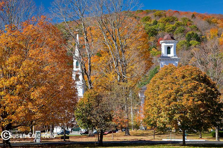 Autumn in Newfane, VT, USA