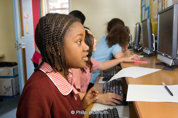 After-school homework club at Our Lady of Dolours Primary School, Paddington.