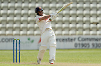 Ryan ten Doeschate of Essex in batting action during Worcestershire CCC vs Essex CCC, LV Insurance County Championship Group 1 Cricket at New Road on 30th April 2021
