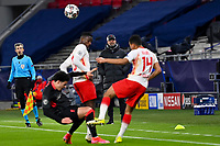 16th February 2021, Puskas Arena, Budapest, Hungary;  Champions League Round of 16 first leg in Budapest, RB Leipzig versus Liverpool; coach Juergen Klopp of Liverpool watches the action on the field of play