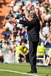 Coach Enrique Martin Monreal of Osasuna gestures during the La Liga match between Real Madrid and Osasuna at the Santiago Bernabeu Stadium on 10 September 2016 in Madrid, Spain. Photo by Diego Gonzalez Souto / Power Sport Images