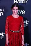 Premiere in Barcelona: ¿Quien mato a Bambi?<br /> Alba Rivas.