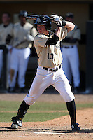 March 7, 2010:  Catcher Beau Taylor of the Central Florida Knights during game at Jay Bergman Field in Orlando, FL.  Central Florida lost to Central Michigan by the score of 7-4.  Photo By Mike Janes/Four Seam Images