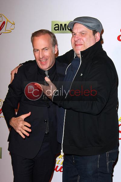 "Bob Odenkirk, Jeff Garlin<br /> at the ""Better Call Saul"" Series Premiere Screening, Regal Cinemas, Los Angeles, CA 01-29-15<br /> David Edwards/DailyCeleb.com 818-249-4998"