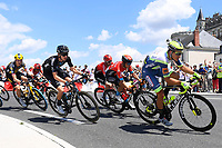 1st July 2021; Chateauroux, France; rider of INTERMARCHE - WANTY - GOBERT MATERIAUX during stage 6 of the 108th edition of the 2021 Tour de France cycling race, a stage of 160,6 kms between Tours and Chateauroux on July 1
