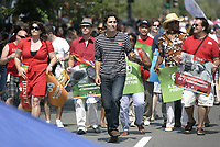 Montreal (qc) CANADA -August 16 2009  file Photo- Montreal Gay Pride parade<br />  - Justin Trudeau