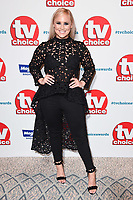 Amy Walsh<br /> at the TV Choice Awards 2018, Dorchester Hotel, London<br /> <br /> ©Ash Knotek  D3428  10/09/2018