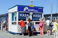 Hafen in Klaipeda, Fähre auf die Nehrung, Litauen, Europa