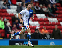 11th September 2021; Ewood Park, Blackburn, Lancashire England; EFL Championship football, Blackburn Rovers versus Luton Town; Sam Gallagher of Blackburn Rovers