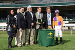 Aoril 04, 2014: Medal Count wins the $100,000 G3 Transylvania with jockey Robby Albarado at Keeneland for owner Spendthrift Farm and trainer Dale Romans.Jessica Morgan/ESW/CSM
