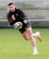 Thursday 18th February 2021 | Ulster Rugby Captain's Run<br /> <br /> John Cooney during the Ulster Rugby Captain's Run held at Kingspan Stadium, Ravenhill Park, Belfast, Northern Ireland, ahead of the Glasgow PRO14clash on Friday night. Photo by John Dickson / Dicksondigital