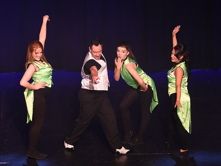 Copacabana performing at the Drogheda Town FC dance show in the TLT. Photo:Colin Bell/pressphotos.ie