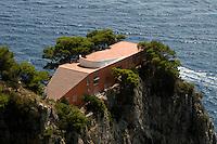 Italien, Capri, Villa Malaparte am Pizzalungo-Wanderweg
