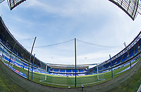 From behind the goal at the Sir Alf Ramsey end during Ipswich Town vs Wigan Athletic, Sky Bet EFL League 1 Football at Portman Road on 13th September 2020
