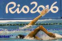 glass hand 2<br /> Traning<br /> Rio de Janeiro 06-08-2016 XXXI Olympic Games <br /> Olympic Aquatics Stadium <br /> Swimming 04/08/2016<br /> Photo Giorgio Scala/Deepbluemedia/Insidefoto