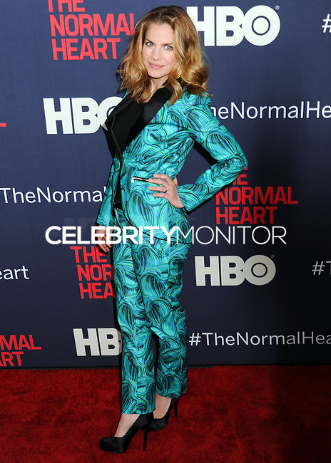 """NEW YORK CITY, NY, USA - MAY 12: Anna Chlumsky at the New York Screening Of HBO's """"The Normal Heart"""" held at the Ziegfeld Theater on May 12, 2014 in New York City, New York, United States. (Photo by Celebrity Monitor)"""