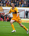 MOTHERWELL'S JAMIE MURPHY CELEBRATES AFTER HE  SCORES MOTHERWELL'S GOAL