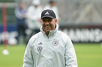 Bundestrainer Hansi Flick (Deutschland Germany) freut sich auf die Aufgabe - Stuttgart 30.08.2021: Training der Deutschen Nationalmannschaft, ADM Park Stuttgart