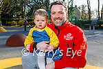 Enjoying the playground in the Killarney National park on Saturday, l to r: Little Lucy and John Paul Coughlan.
