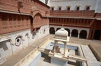 im Junargarh Fort, Bikaner (Rajasthan), Indien