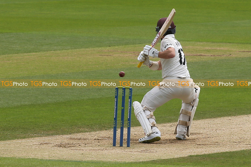 Rory Burns of Surrey in batting action during Surrey CCC vs Somerset CCC, LV Insurance County Championship Group 2 Cricket at the Kia Oval on 13th July 2021
