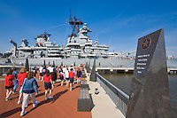 USS New Jersey Battleship (BB62), Camden Waterfront, Delaware River, New Jersey