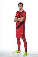Hans Vanaken midfielder of Belgium  <br /> Tubize 12/11/2019 <br /> Calcio presentazione della nuova maglia della Nazionale del Belgio <br /> Photo De Voecht  Kalut/Photonews/Panoramic/insidefoto<br /> ITALY ONLY