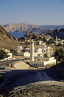 Sidab, Oman.  View of Sidab, suburb of Muscat, February 2004.  Compare to Feb72_Oman_25.