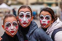 Europe, Italy, Tuscany, Viareggio,    masks