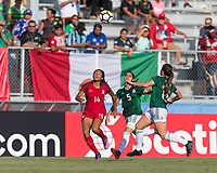 Bradenton, FL - Sunday, June 12, 2018: Smith Hunter Ximena Rios during a U-17 Women's Championship Finals match between USA and Mexico at IMG Academy.  USA defeated Mexico 3-2 to win the championship.