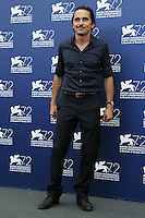 Pier Giorgio Bellocchio attends a photocall for the movie 'Blood Of My Blood' during the 72nd Venice Film Festival at the Palazzo Del Cinema in Venice, Italy, September 8, 2015.<br /> UPDATE IMAGES PRESS/Stephen Richie