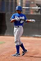 Jose Bonilla     - Kansas City Royals - 2009 spring training.Photo by:  Bill Mitchell/Four Seam Images