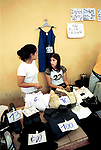 Economic Turmoil in Argentina<br /> A clothes stall with garments for exchange valued between 5 and 100 credits. 2000s 2002