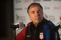 San Jose, Ca - Friday March 24, 2017: Bruce Arena during the USA Men's National Team defeat of Honduras 6-0 during their 2018 FIFA World Cup Qualifying Hexagonal match at Avaya Stadium.