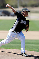 Ethan Hollingsworth - Colorado Rockies - 2009 spring training.Photo by:  Bill Mitchell/Four Seam Images