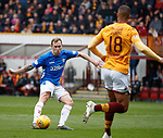 07.04.2019 Motherwell v Rangers: Scott Arfield scores his second goal