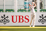 Steven Tiley of England tees off the first hole during the 58th UBS Hong Kong Open as part of the European Tour on 08 December 2016, at the Hong Kong Golf Club, Fanling, Hong Kong, China. Photo by Marcio Rodrigo Machado / Power Sport Images