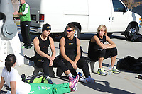 SCHAATSEN: SALT LAKE CITY: Utah Olympic Oval, 12-11-2013, Essent ISU World Cup, training, Jan Smeekens, Kjeld Nuis, Ronald Mulder, ©foto Martin de Jong